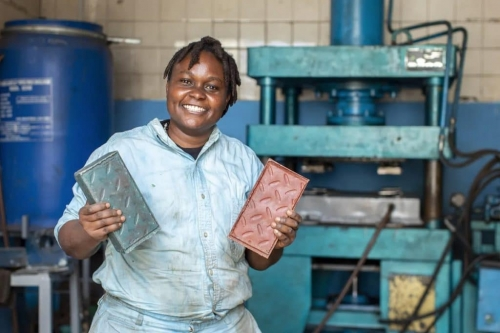 Recycled plastic bricks stronger than concrete