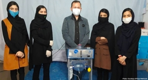 阿富汗女孩的機器人團隊設計平價的呼吸器, The Afghan Girls' Robotics Team Designed an Inexpensive Ventilator Out of Car Parts to Help With the Pandemic Fight